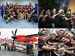 Ausgelassene Europameister im Gold-Rausch