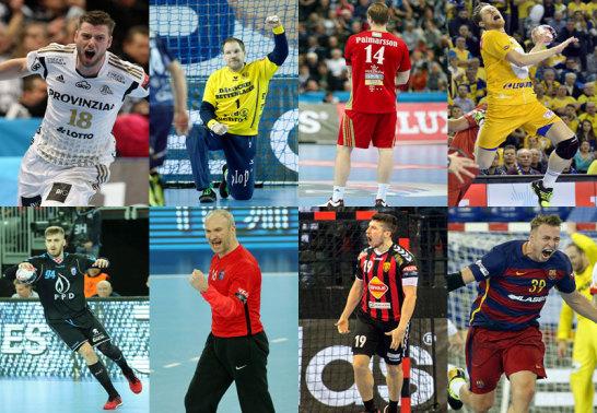 Kiel, Flensburg, Veszprem, Kielce, Zagreb, Paris, Skopje und Barcelona sind im Viertelfinale.