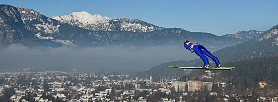 Fünf Siege zwischen 1999 und 2008: Der Finne Janne Ahonen, hier am Neujahrstag 2011 in Garmisch-Partenkirchen, hat Maßstäbe gesetzt.