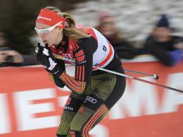Überraschte in Toblach mit dem achten Platz: Denise Herrmann.