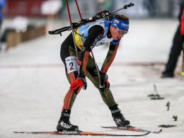 Ausgebremst: Biathlet Simon Schempp