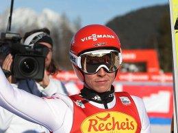 Gewinnt auch das zweite Rennen in Seefeld: Eric Frenzel.