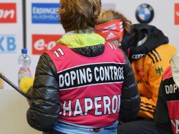 Ein namentlich nicht genannter Athlet wurde wegen Dopingverdachts suspendiert.