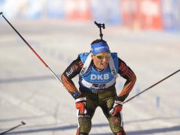 Verpasste das Podest: Biathlet Erik Lesser.