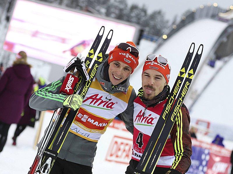 Doppelerfolg Der Kombinierer Rießle Siegt Vor Frenzel Wintersport