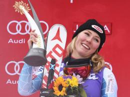 Im Slalom quasi unschlagbar: Mikaela Shiffrin.