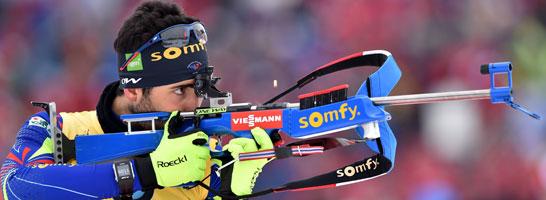 Peilt in der Verfolgung seine erste WM-Einzelmedaille an: Simon Schempp.