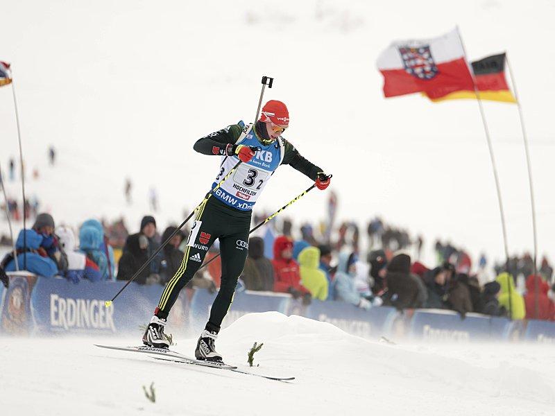 Simon Schempp verpasst beim Biathlon-Weltcup in Annecy erneut das Podium