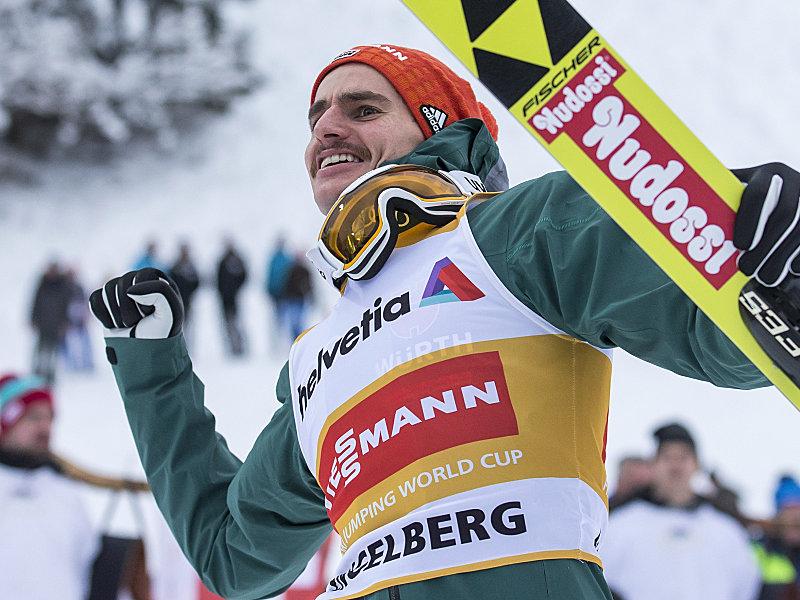 Freitag mit Platz vier in Garmisch