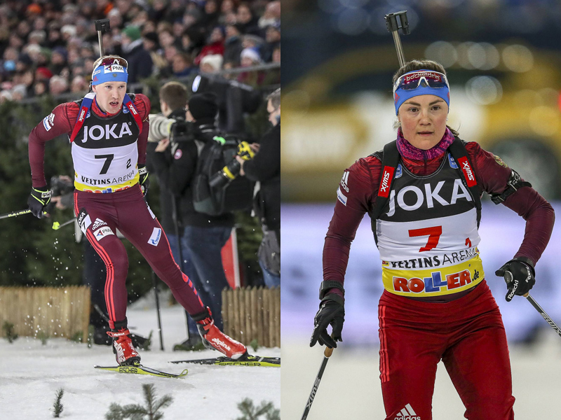 russisches duo alexey volkov und ekaterina yurlova percht dominiert beim biathlon auf schalke. Black Bedroom Furniture Sets. Home Design Ideas