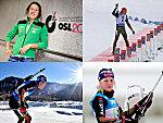 Die deutschen Biathleten in Oslo