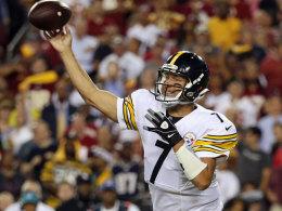 Ein Steelers-Dreigestirn hat mächtig Spaß in Washington