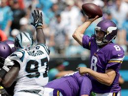 Die Vikings stürmen die Panthers-Festung