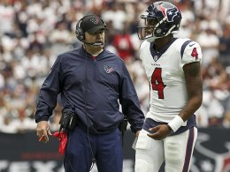 Das ging fix: Houston tauscht den Quarterback