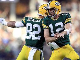 Er macht's schon wieder: Rodgers stürmt Dallas