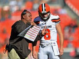 Geduld am Ende: Browns tauschen Quarterback