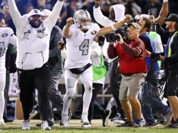 Drama in Oakland: Raiders gewinnen nach Ablauf der Uhr