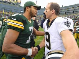 Brees läuft gegen die Packers mal wieder heiß
