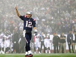 Im Nebel von New England: Brady dominiert Atlanta erneut