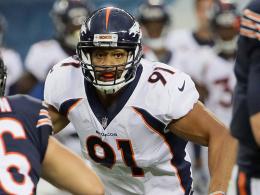 Linebacker Edebali: Statt Denver nun Detroit