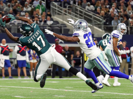 Philly demütigt Dallas ohne Kicker - Rookie-Slapstick in L.A.