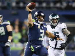 Wilson schlägt Wentz: Seattle beendet Philadelphias Serie