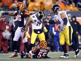 Nach 0:17! Steelers gewinnen hässliches Duell in Cincinnati