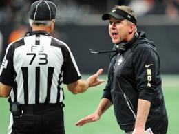 Trainer rennt aufs Feld! Bizarres Ende in Atlanta
