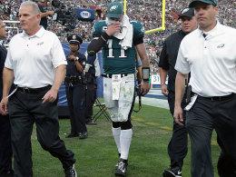 Eagles: Play-offs erreicht und Wentz verloren!