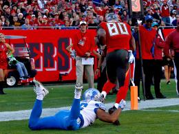 Wieder kein Glück: Detroit Lions entlassen Edebali