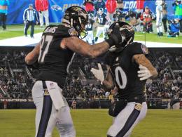 Ravens behalten Play-offs im Auge - Shutout für Packers