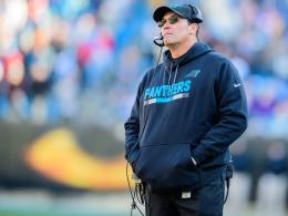 Vertrag bis 2020: Panthers vertrauen weiter auf Rivera