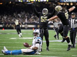 Cam k. o.! Saints schalten Panthers zum dritten Mal aus