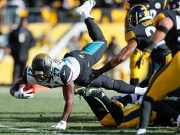 Steelers erneut düpiert! Jaguars reisen nach New England