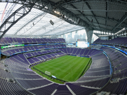 Das milliardenschwere U.S. Bank Stadium in Minneapolis