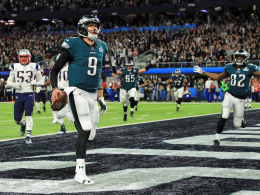 Foles' Touchdown-Catch ist den Chicago Bears zu verdanken