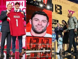 Große Emotionen, Wut und neun Fehler: Der NFL-Draft 2018