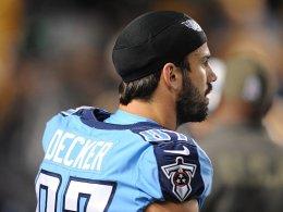 Eric Decker landet bei den Patriots