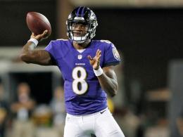 Baltimore gewinnt das erste Spiel der Football-Saison