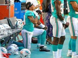 Hymnen-Debatte in den USA: NFL-Spieler protestieren weiter