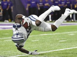 Bradford gestoppt, Bryant im Team: Dallas siegt