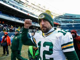 Rodgers holt den Hammer aus der Tiefkühltruhe
