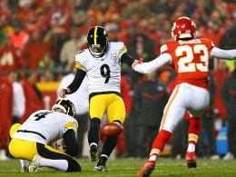 Sechs Field Goals! Steelers dank Boswell im AFC-Finale