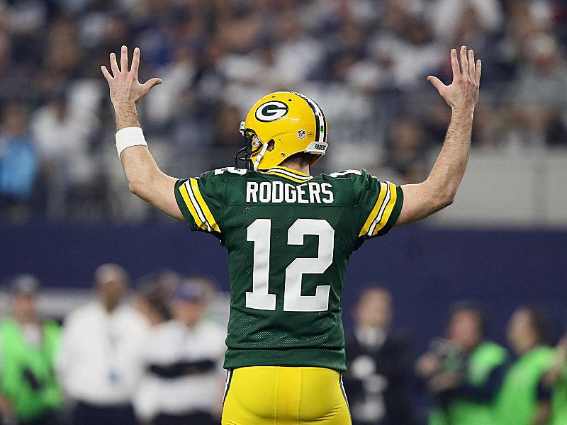 Brady lobt Rodgers   Phänomenal