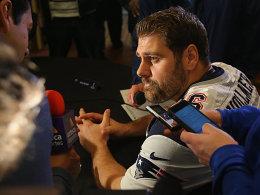 Abschied von den Pats: Endet Vollmers NFL-Karriere?
