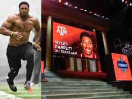 Heißes Talent: Garrett landet bei den Cleveland Browns