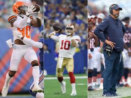 Browns, 49ers, Bears: Trio vor dem Turnaround?