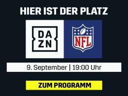 Es geht wieder los: Die NFL live bei DAZN