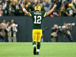Verletzter Rodgers führt Packers zu Wahnsinns-Comeback