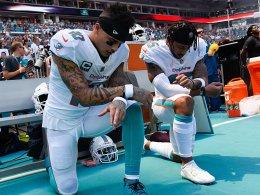 Hymnen-Proteste in der NFL setzen sich fort